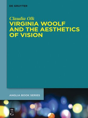 cover image of Virginia Woolf and the Aesthetics of Vision