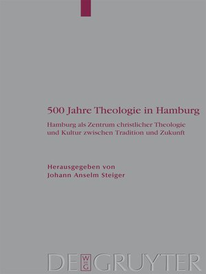cover image of 500 Jahre Theologie in Hamburg