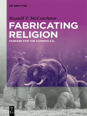 cover image of Fabricating Religion