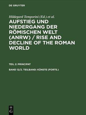 cover image of Künste (Forts.)