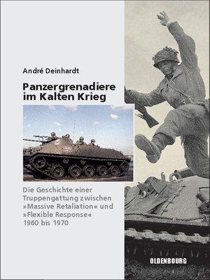 cover image of Panzergrenadiere – eine Truppengattung im Kalten Krieg