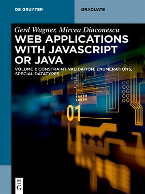 cover image of Web Applications with Javascript or Java