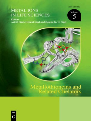 cover image of Metallothioneins and Related Chelators