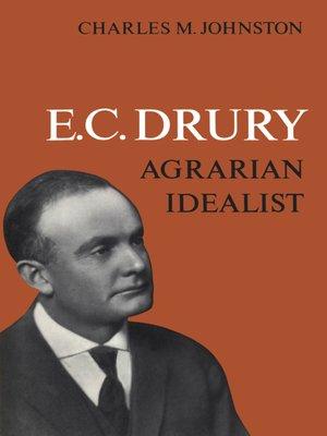cover image of E.C. Drury