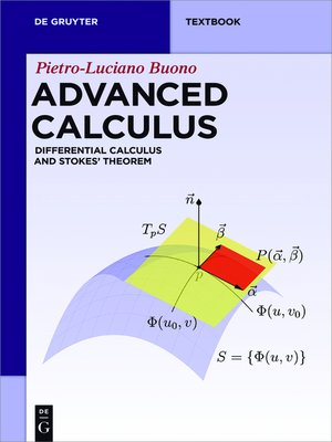 cover image of Advanced Calculus