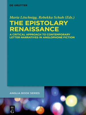 cover image of The Epistolary Renaissance