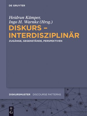 cover image of Diskurs – interdisziplinär