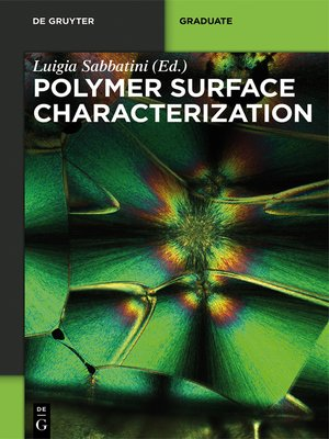 cover image of Polymer Surface Characterization