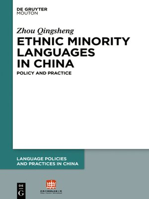 cover image of Ethnic Minority Languages in China
