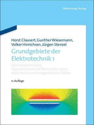 cover image of Gleichstromnetze, Operationsverstärkerschaltungen, elektrische und magnetische Felder