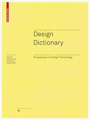 cover image of Design Dictionary