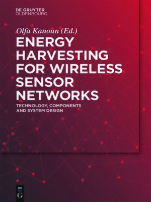 cover image of Energy Harvesting for Wireless Sensor Networks