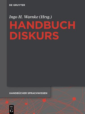 cover image of Handbuch Diskurs