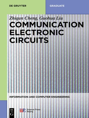 cover image of Communication Electronic Circuits