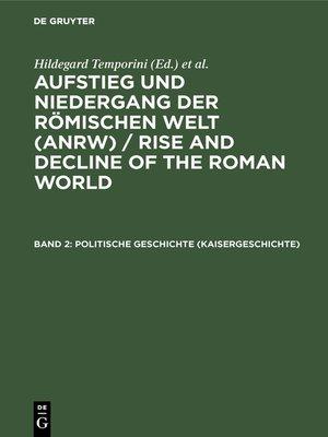 cover image of Politische Geschichte (Kaisergeschichte)