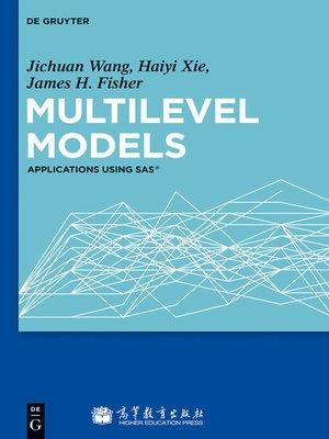 cover image of Multilevel Models