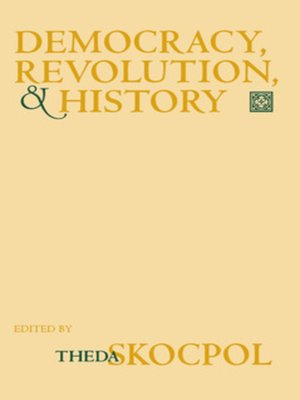 cover image of Democracy, Revolution, and History