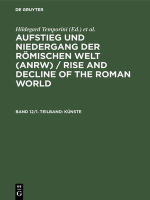 cover image of Künste