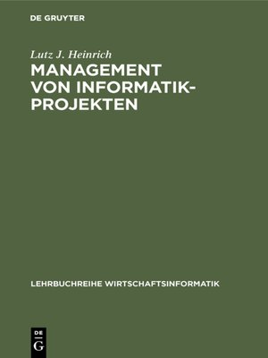 cover image of Management von Informatik-Projekten