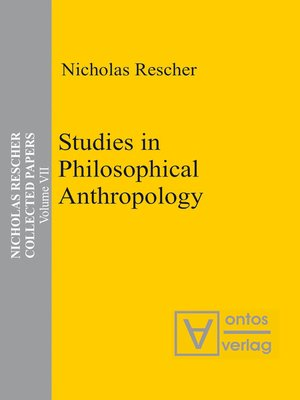 cover image of Studies in Philosophical Anthropology