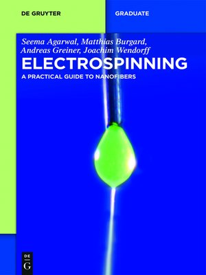 cover image of Electrospinning