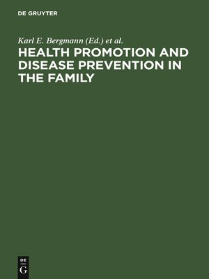 health promotion and disease prevention In january 2000, the department of health and human services launched healthy people 2010, a comprehensive, nationwide health promotion and disease prevention agenda healthy people 2010 contains 467 objectives designed to serve as a framework for improving the health of all people in the united.