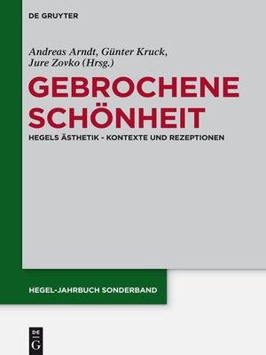 cover image of Gebrochene Schönheit
