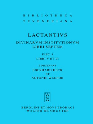 cover image of Libri V et VI