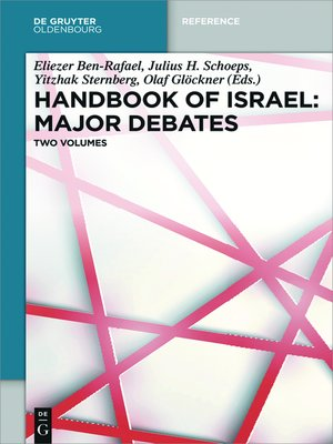 cover image of Handbook of Israel