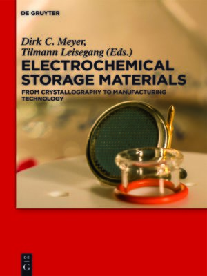 cover image of Electrochemical Storage Materials