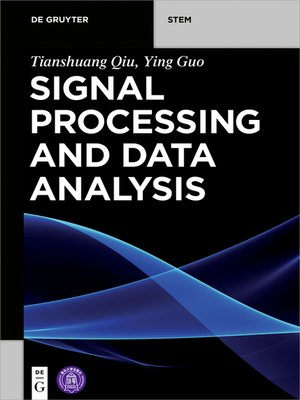 cover image of Signal Processing and Data Analysis