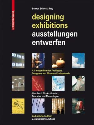 cover image of Ausstellungen entwerfen – Designing Exhibitions