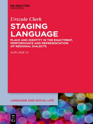 cover image of Staging Language