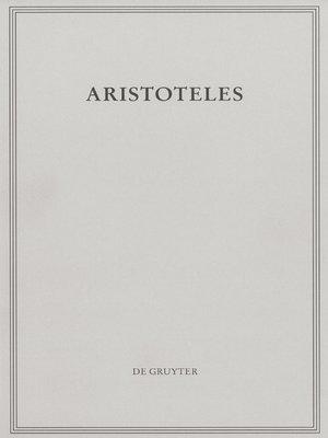 cover image of Peri hermeneias