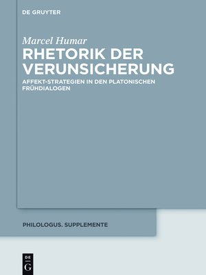cover image of Rhetorik der Verunsicherung
