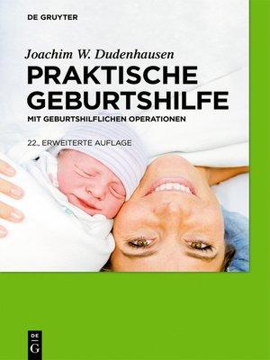 cover image of Praktische Geburtshilfe