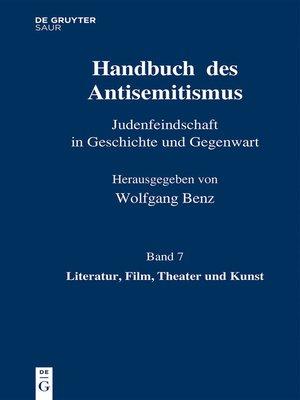 cover image of Literatur, Film, Theater und Kunst