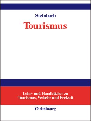 cover image of Tourismus