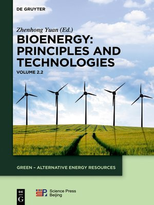 cover image of Bioenergy. Volume 2