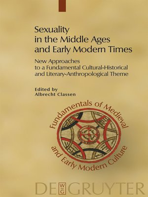 cover image of Sexuality in the Middle Ages and Early Modern Times