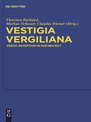 cover image of Vestigia Vergiliana
