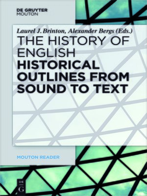 cover image of Historical Outlines from Sound to Text