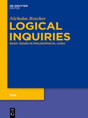cover image of Logical Inquiries