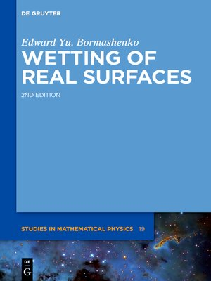 cover image of Wetting of Real Surfaces