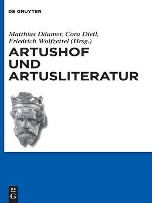cover image of Artushof und Artusliteratur