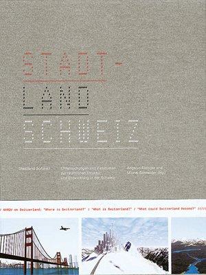 cover image of Stadtland Schweiz