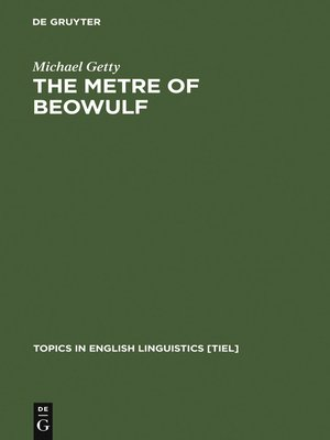 cover image of The Metre of Beowulf