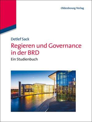cover image of Regieren und Governance in der BRD