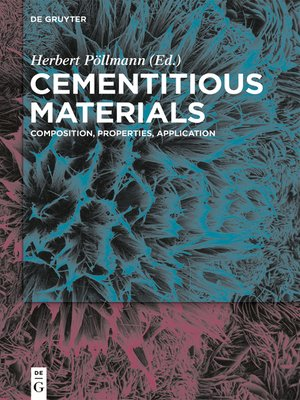 cover image of Cementitious Materials