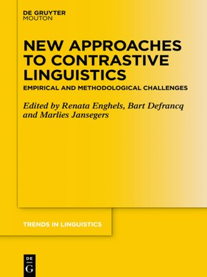 cover image of New Approaches to Contrastive Linguistics